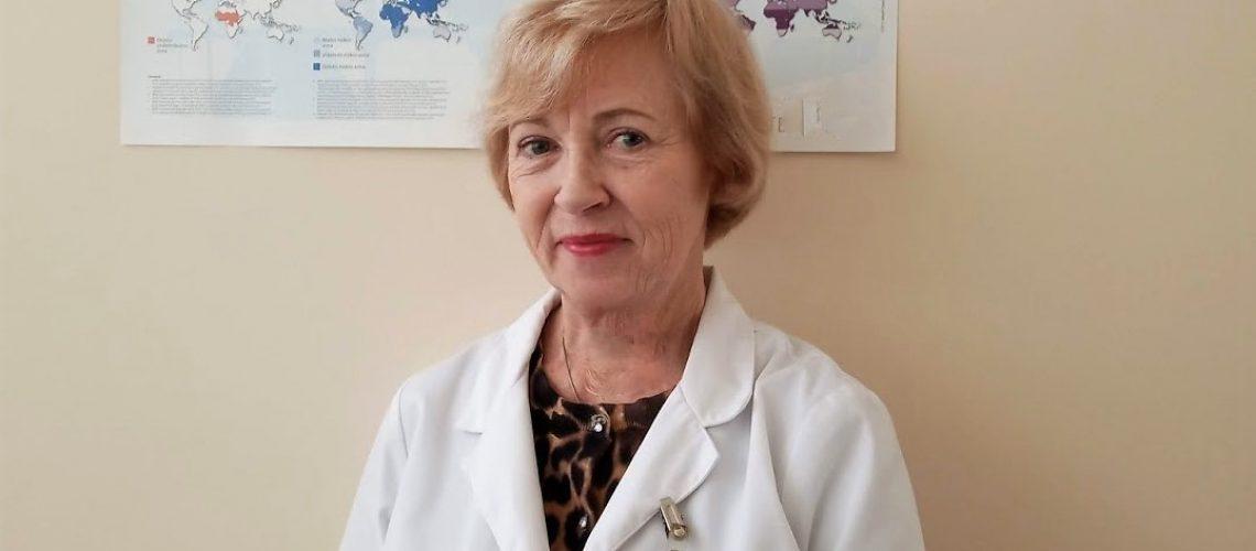 Infektologė Laima Nakutienė
